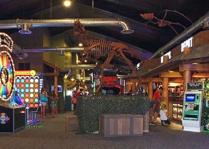 Wild Willy's Dino Island